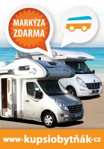 Prodej obytných vozů, aut a karavanů